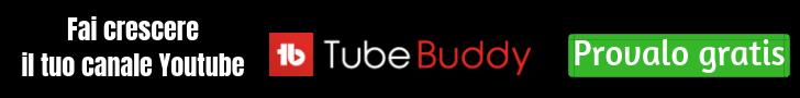 Se vuoi far crescere il tuo canale Youtube certamente devi usare Tubebuddy