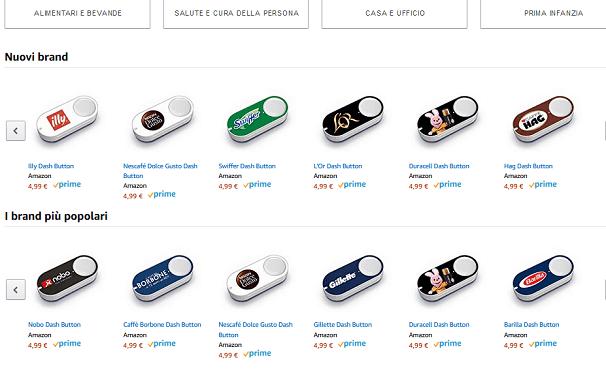Amazon Dash Button è un servizio innovati introdotto di recente dal colosso statunitense