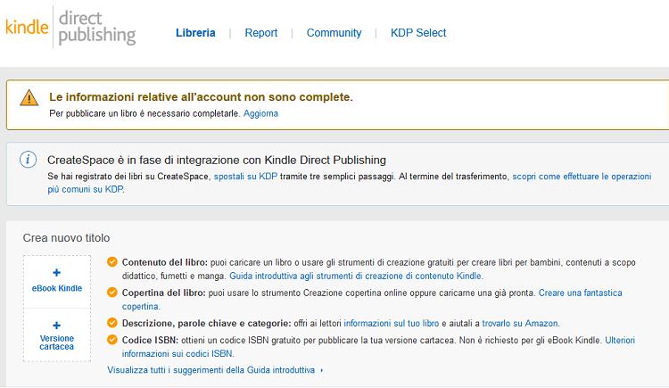 Se vuoi pubblicare un libro devi assolutamente conoscere come funziona Amazon KDP