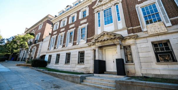 La residenza situata a Washington DC è sicuramente la casa di Jeff Bezos più nota