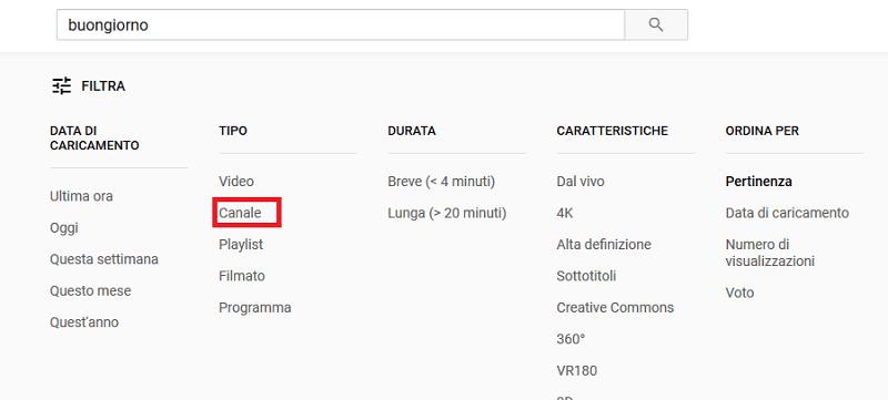 In questa guida voglio spiegarti come usare il filtro di ricerca su Youtube
