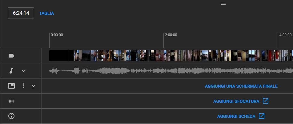 Grazie all' editor video di Youtube puoi fare diverse modifiche