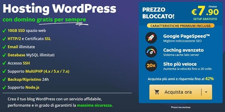 In questo articolo voglio parlarti anche di Keliweb e del costo dei piani per siti WordPress