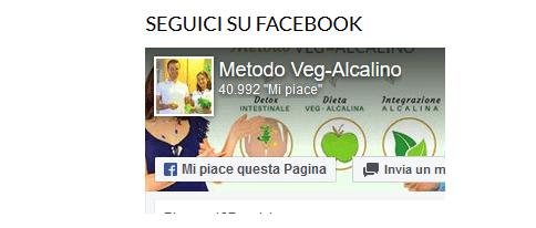 Collegare il sito alla pagina Facebook non sempre è una buona idea