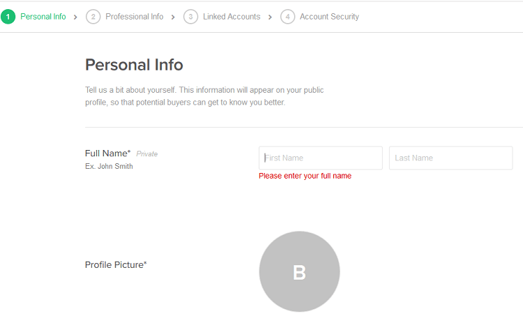Se non sai come creare un profilo venditore su Fiverr sentiti libero di leggere la mia guida
