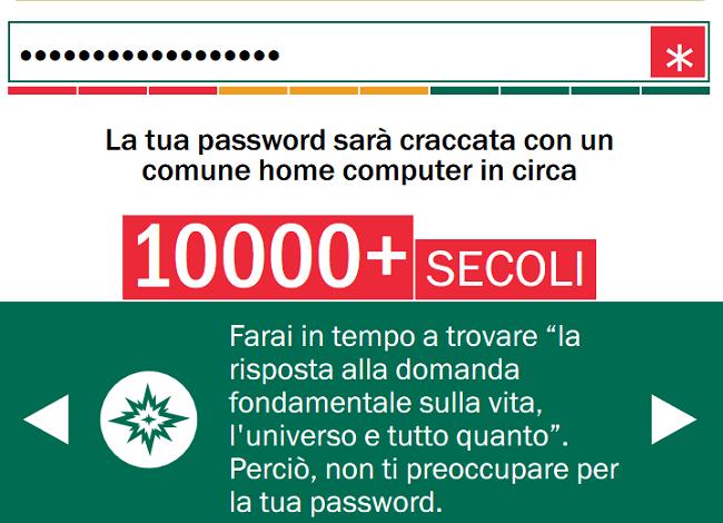Scopri subito come misurare la forza di una password