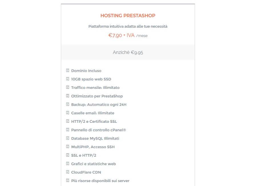 Conosci già i piani hosting di Limenetwork ottimizzati per Prestashop?