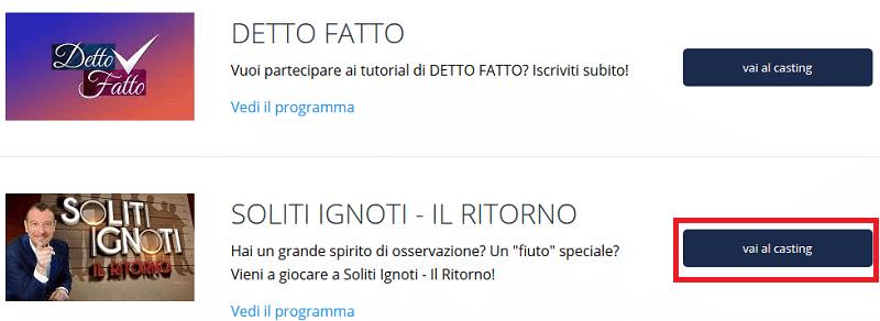 Casting Soliti Ignoti
