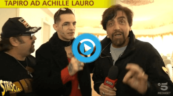 Achille Lauro Striscia Notizia Video
